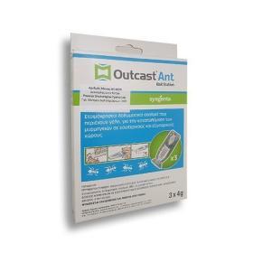 OUTCAST ANT BAIT STATION 3*4GR